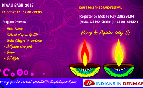 The Grand Diwali Bash 2017